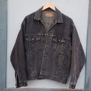 Vintage! Levi's Black Jean Jacket Men's Small